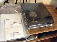 Sony ps j20 record player ( turntable )