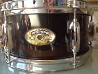 """Pearl FireCracker 10""""x5"""" wooden snare drum with gigbag"""