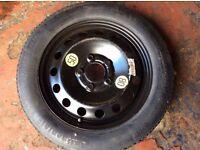 BMW Space Saver spare wheel (1 series, 3 series, 5 series, E46, E60, E61 etc)