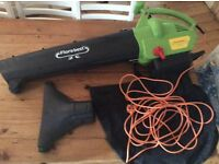 Florabest leaf blower. Powerful and used about 3 times. Very good condition.