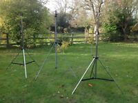 DOUGHTY AND POWERDRIVE LIGHTING OR SPEAKER STANDS
