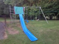 TP slide, swing and frame set
