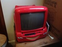 """CARS"" Lightning McQueen DVD Player with Screen"