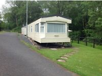 Sited static Caravan.2006 32x10 Cosalt Resort. Site fees paid to April 2018