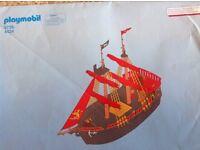 Playmobil black beards pirate ship