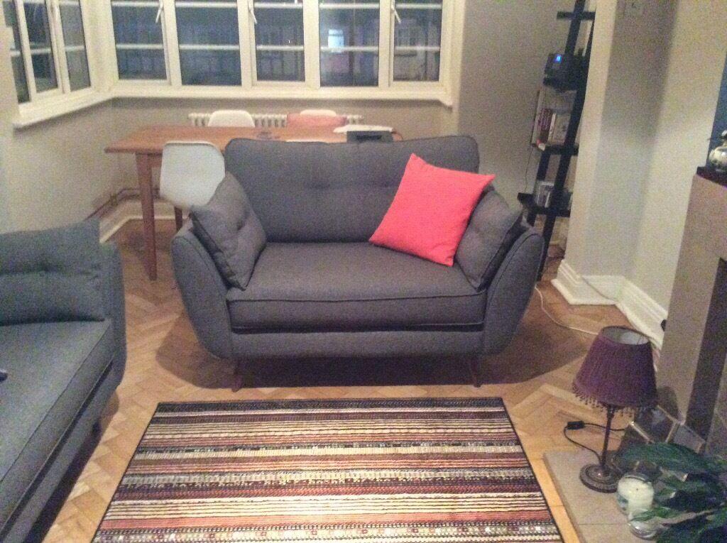 dfs french connection zinc cuddler in south croydon. Black Bedroom Furniture Sets. Home Design Ideas