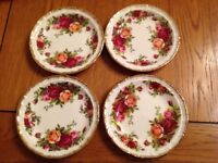 Royal Albert old country rose small plates