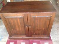 2 Door Computer Hideaway Cabinet