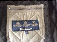 Barbour boys quilted jacket age 12-13yrs