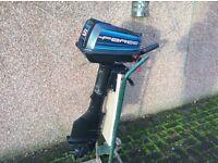 Force/mercury 5hp outboard motor 2-stroke