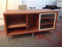 Ikea Magiker Glass Cabinet / Entertainment Unit / Tv Stand