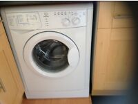 Indesit washing machine, excellent condition, like new