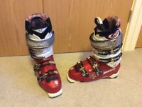 Mens Technica Ski Boots (includes brand new 'free' Solomon boot bag never used)