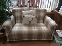 Beautiful laura ashley 2 seater tartan sofa..excellent condition..