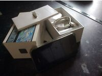 iPhone 4s with box, charger and cables
