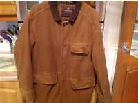 """MARKS & SPENCERS CANYON jacket size small 37"""" chest. Lots of pockets. Cleaned & ready to go/wear.."""