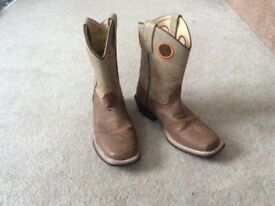 Authentic ,original boys cow boy boots from USA could be handy for Thursday ,world book day