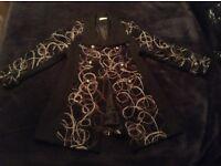 Woollen designer coat