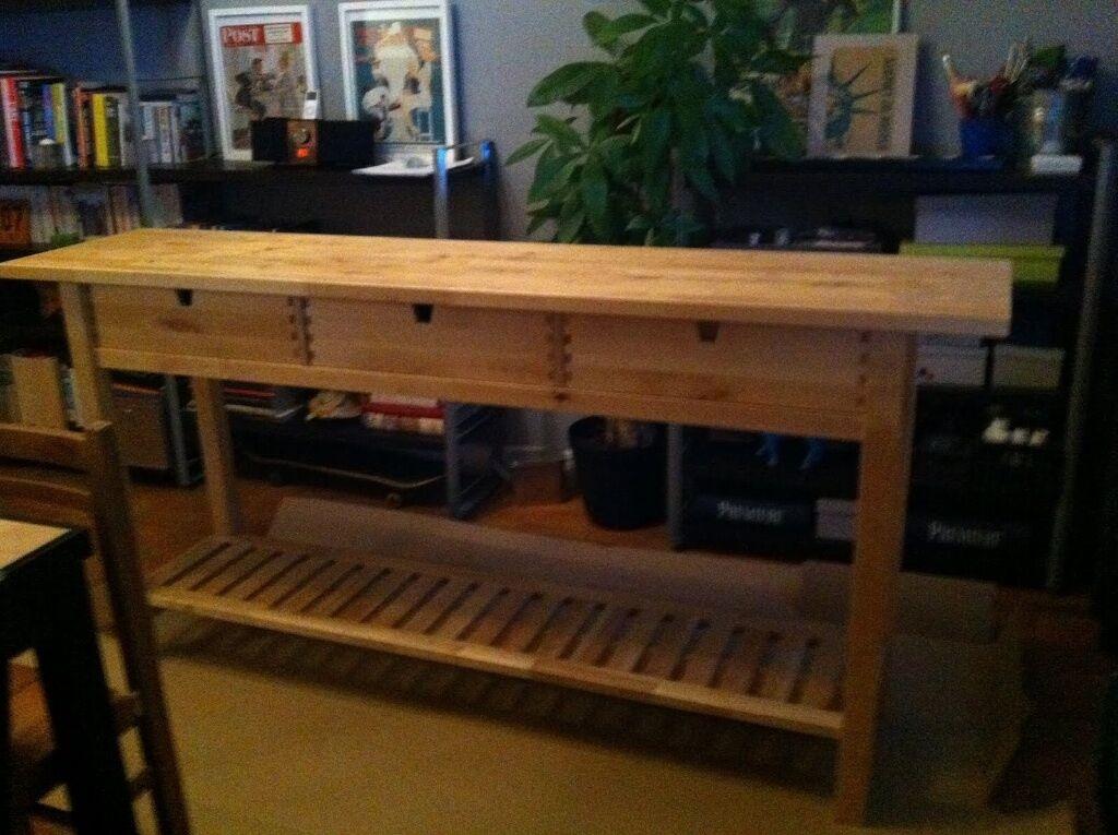 console bureau ikea conceptions de maison. Black Bedroom Furniture Sets. Home Design Ideas