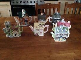 A small collection of stunning Tea Pots for Display purposes
