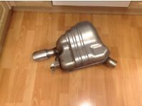 AUDI A5 3.0 TDI QUATTRO REAR N/S STAINLESS EXHAUST SILENCER OEM AUDI PART