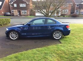 Low mileage BMW 120d M Sports Coupe - 2 owners. Excellent condition.