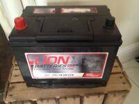 Brand new car/van battery never fitted Lion battery for Nissan vanette