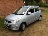 Hyundai I10 Active, 1.2 2013 (63) Ice blue Only £20 yearly tax