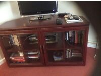 TV Stand & Cabinet (Mahogany)