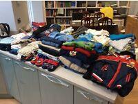 12-18 month boys clothes bundle - 226 items