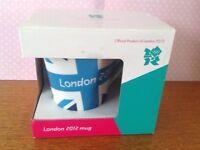 London 2012 official collectors mug