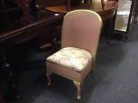 Vintage Lloyd loom bedroom chair