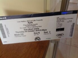 Kylie ticket for sale for Leeds First Direct Arena