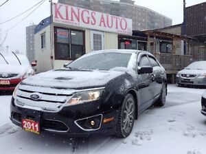 2011 Ford Fusion SEL, LEATHER, TIPTRONIC, REVERSE SENSORS, FOGS.