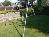 Multiple swing set