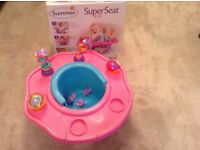 Summer infant 3 stage seat super activity booster chair