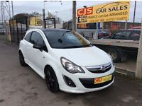 Vauxhall corsa limited edition 1.2 sxi 2013 one owner 40000 fsh full year mot mnt car fully serviced