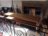 Ercol style consul table