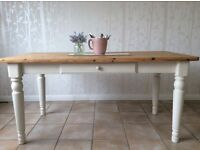 Shabby chic dinning table