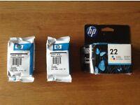 Genuine HP22 Cartridges