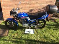 Lexmoto Arrow 125cc 2014 only 384miles, serviced and MOT'd