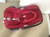 Maxicosi car seat in very good condition