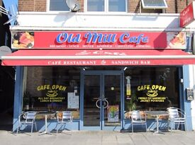 Local cafe business established for approximately 30 years.