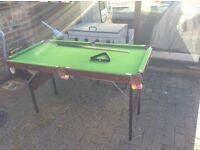 Kids Pool Table with balls
