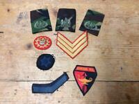 Assorted Cloth Badges