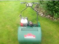 Ransomes marquis 61 lawn mower with honda 4hp engine grass cutter