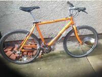 Mountain bike orange hitman