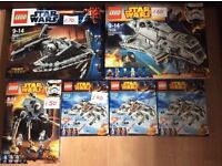 New Star Wars LEGO- various sets