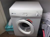 White night 6kg vented tumble dryer with condenser box