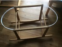 Rocking stand for Moses basket,
